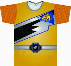 Camiseta Infantil Power Ranger Dino Charge - Ricardo Fantasias