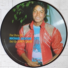 LP Michael Jackson - The Story Told By Jerry Cowan (Picture Disc) - comprar online