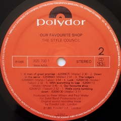 LP The Style Council - Our Favorite Shop