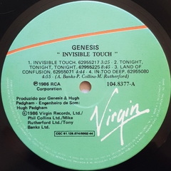 LP Genesis - Invisible Touch - BOLACHÃO DISCOS