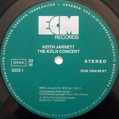 LP Keith Jarrett - The Koln Concert (Duplo • Import) - loja online