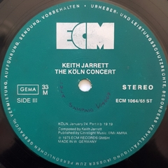 LP Keith Jarrett - The Koln Concert (Duplo • Import)