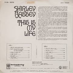 LP Shirley Bassey - This Is My Life - comprar online