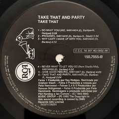 LP Take That - Take That & Party - BOLACHÃO DISCOS