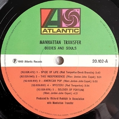 LP The Manhattan Transfer - Bodies And Soul na internet