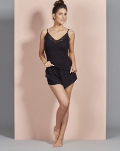Top Under Longo Preto - comprar online