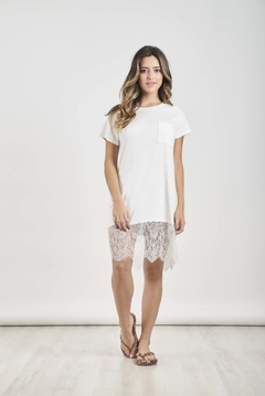 Camisola T-Shirt Natural Off White