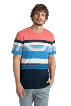 Remera Oxford Polo Club Jacky M/c Rayada (7573) - Bugato shops