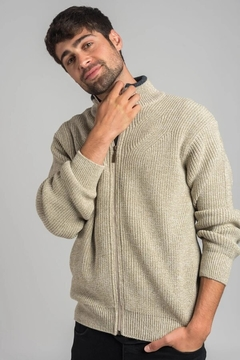 SWEATER  OLIVER TIPO CAMPERA OXFORD POLO CLUB (7782)