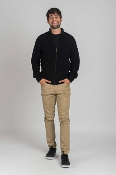 Imagen de SWEATER  OLIVER TIPO CAMPERA OXFORD POLO CLUB (7782)