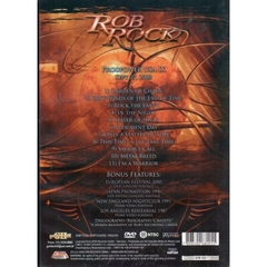 CD/DVD Rob Rock | THE VOICE OF MELODIC METAL Live in Atlanta - comprar online