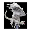 D&D: Icons of the Realms - Premium Figures – White Adult Dragon - Playeasy