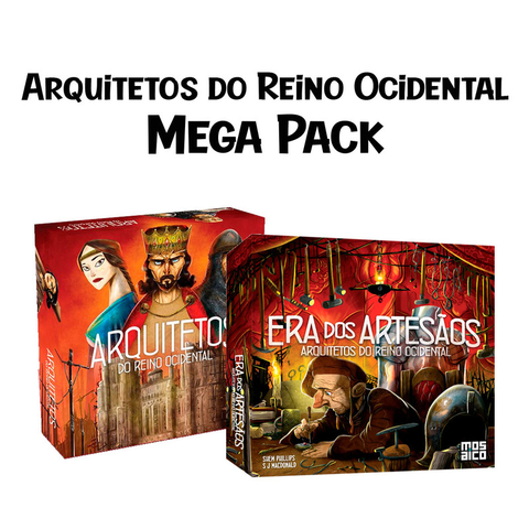 Mega Pack: Arquitetos do Reino Ocidental + Expansão