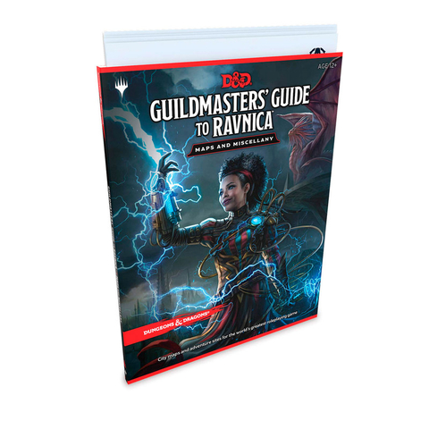 Dungeons & Dragons: Guildmasters' Guide to Ravnica Map Pack