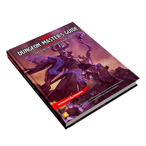Dungeons & Dragons: Dungeon Master's Guide - Livro do Mestre