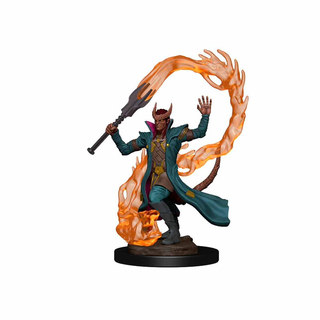 D&D: Icons of the Realms - Premium Figures – Tiefling Male Sorcerer