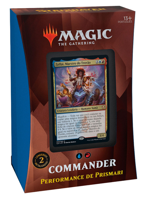 MTG Strixhaven: Commander Performance de Prismari