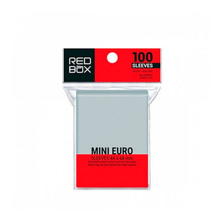 Sleeve Mini Euro (44 mm x 68 mm) - RedBox