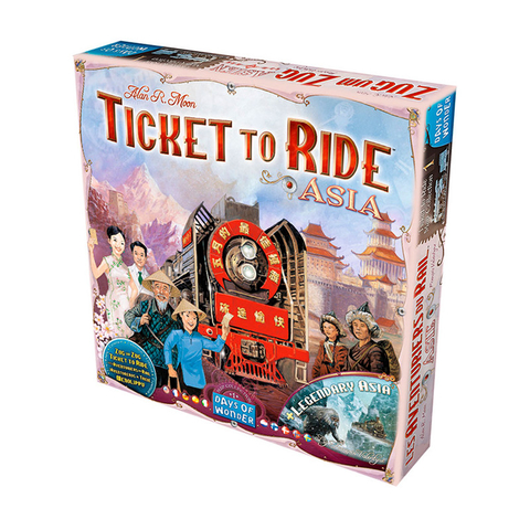 Ticket to Ride: Ásia - Expansão
