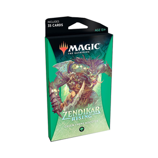MTG Zendikar Rising: Theme Booster Green