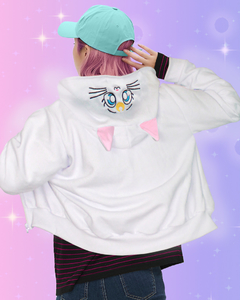 Moletom Luna Artemis Sailor Moon Gato na internet