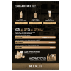 Imagem do Redken All Soft Máscara 250g