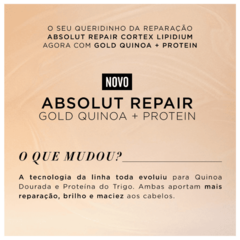 L'Oréal Professionnel Absolut Repair Gold Quinoa Condicionador 200ml - Belas & Delas