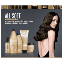 Redken All Soft Máscara 250g - Belas & Delas