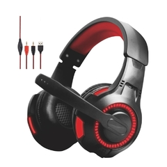 Silla Gamer Mid Core + Pad + Teclado + Auriculares + Mouse - Good Game