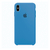 Capa de Silicone para iPhone XS Max Apple - Azul Claro