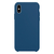 Capa de Silicone para iPhone XR Apple - Azul Centáurea