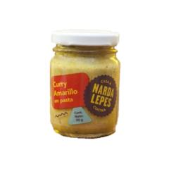 Curry Amarillo en Pasta x 90 grs - Narda Lepes