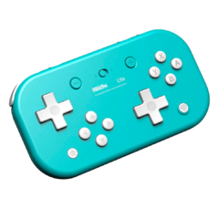 Joystick Retro 8Bitdo Lite Wireless (Turquesa) - Nintendo Switch