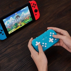 Joystick Retro 8Bitdo Lite Wireless (Turquesa) - Nintendo Switch - comprar online