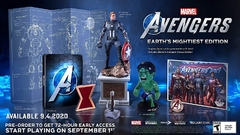 Avengers: Earth's Mightiest Heroes (Collectors Edition) - Playstation 4 - comprar online