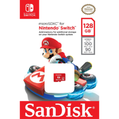 Memoria Micro SD 128 GB - Nintendo Switch