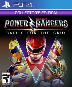 Power RangersL Battle For The Grid Collector's Edition - Playstation 4