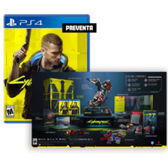 Cyberpunk 2077: Collector's Edition - Playstation 4 (Preventa)