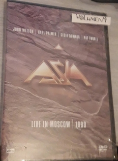 Asia -  Live In Moscow 1990 CD + DVD