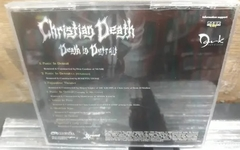 Christian Death - Death In Detroit - comprar online