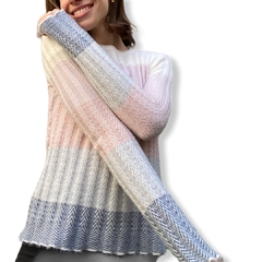 Sweater degradee
