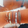 Mix Pulseiras Girl Power