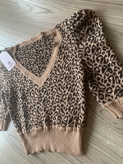 CROPPED MODAL ANIMAL PRINT NEW