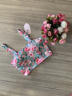 CROPPED FLORAL NEOPREME na internet
