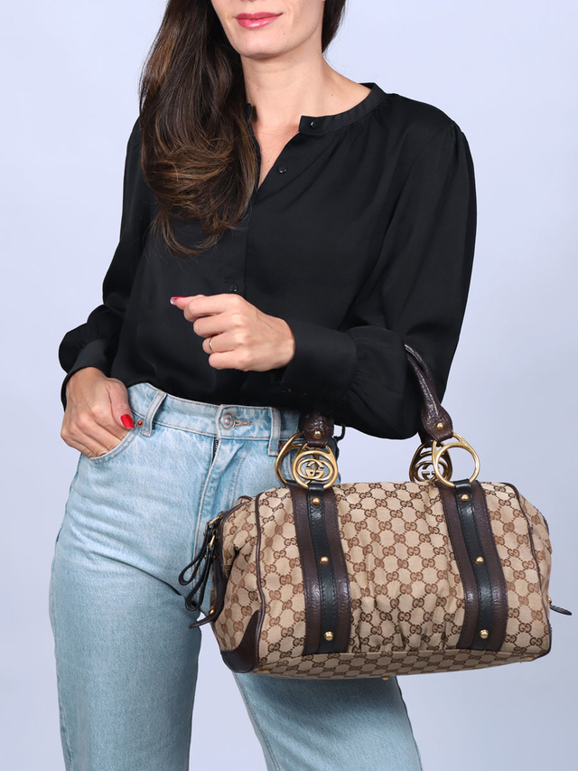 Bolsa Gucci Interlocking Medium Boston - comprar online