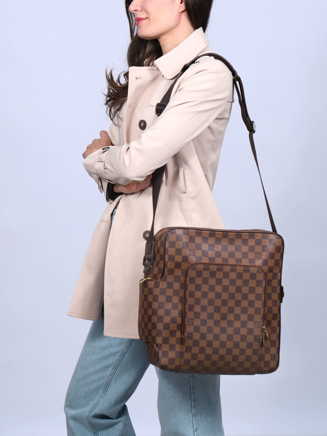 Bolsa Louis Vuitton Damier Canvas Olav GM - comprar online