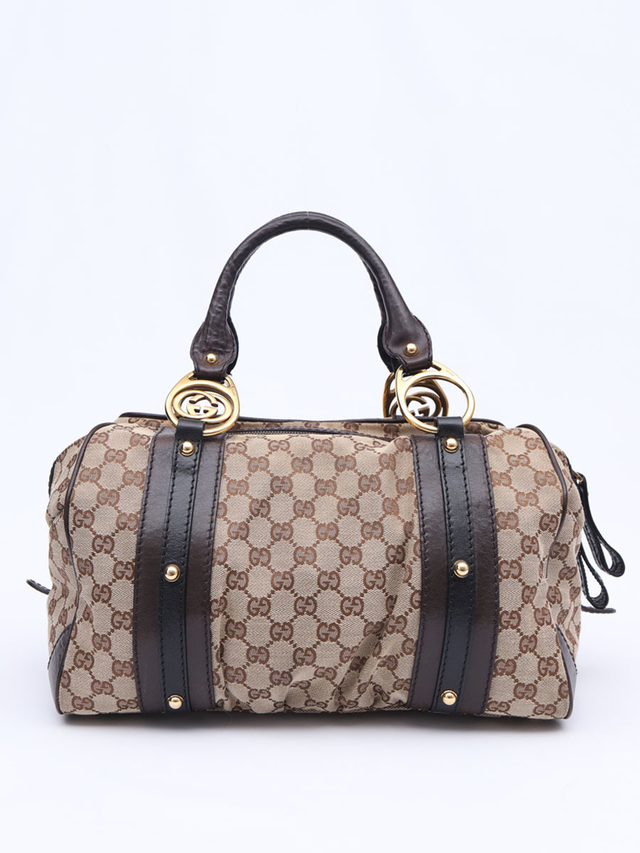 Bolsa Gucci Interlocking Medium Boston