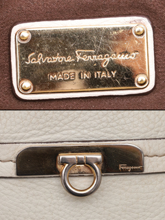 Imagem do Bolsa Salvatore Ferragamo Pebbled Gancini Tote