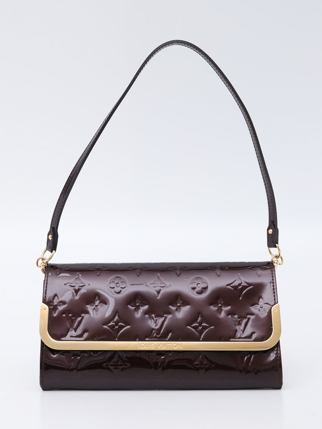 Bolsa Clutch Original Louis Vuitton Rossmore Verniz