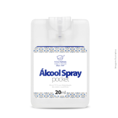 Álcool Spray Pocket 20ml